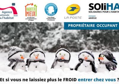 Expérimentation sur la précarité énergétique entre L'ANAH, La Poste et SOliHA Ariège