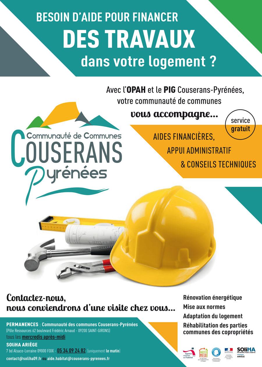 Des aides pour rénover votre logement en Couserans-Pyrénées
