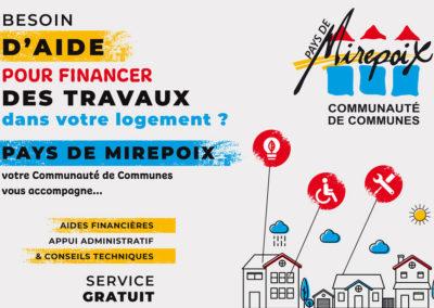 Des aides pour rénover votre logement en Pays de Mirepoix